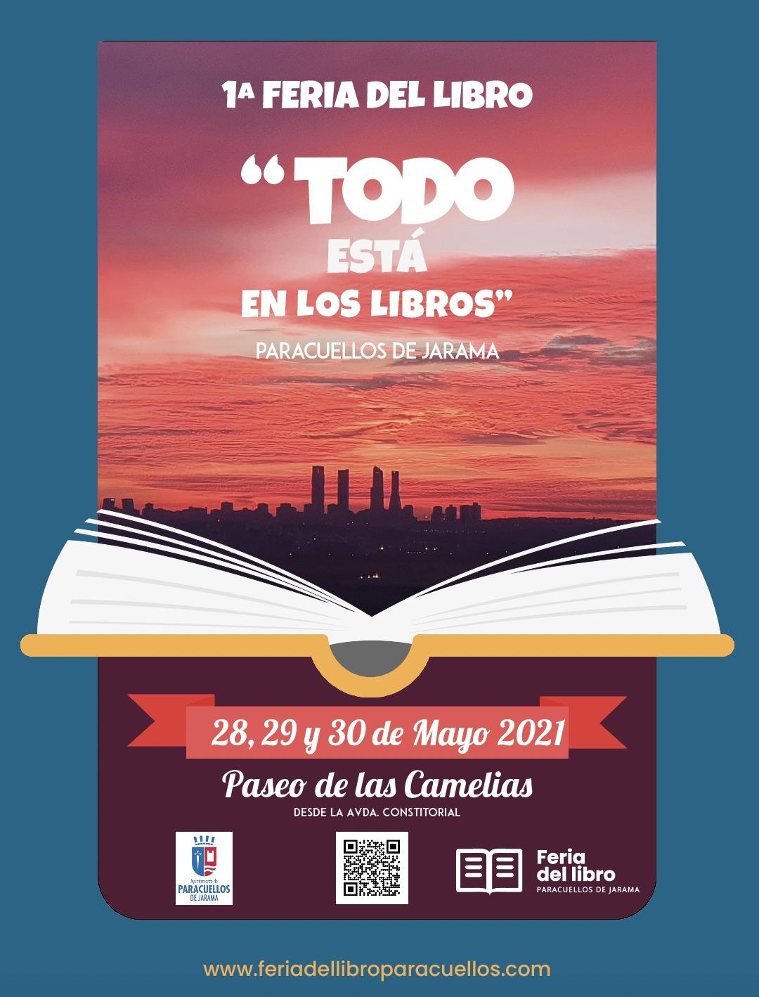 1ª Feria del libro de Paracuellos de Jarama 2021